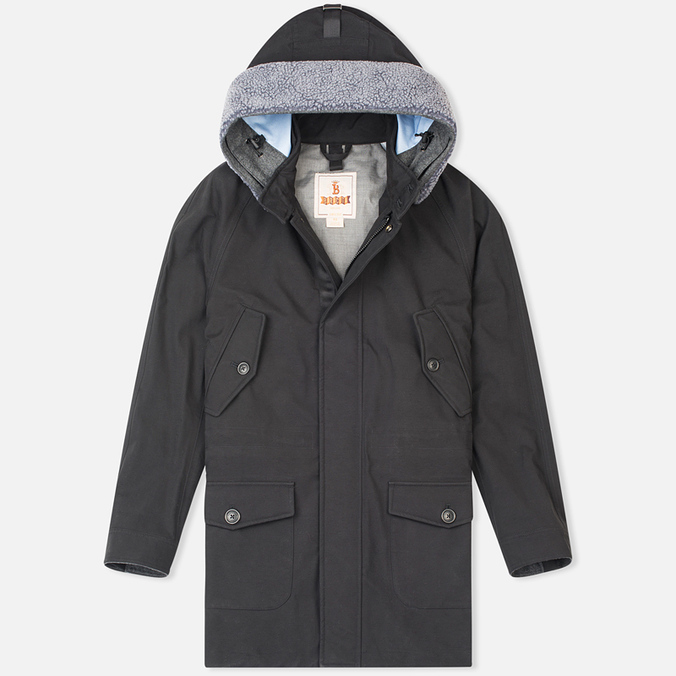 Мужская куртка парка Baracuta 3L Eskimo Windbreaker Twist Black