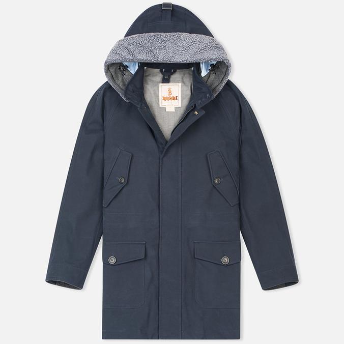 Мужская куртка парка Baracuta 3L Eskimo Windbreaker Twist Marine