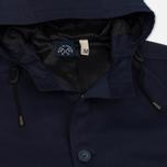 Мужская куртка парка Bleu De Paname Gabardine Fishtail Denim Blue Paname фото- 2