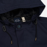 Мужская куртка парка Bleu De Paname Gabardine Fishtail Denim Blue Paname фото- 3