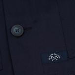 Мужская куртка парка Bleu De Paname Gabardine Fishtail Denim Blue Paname фото- 5