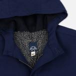 Мужская куртка парка Bleu De Paname Gabardine Natte Blue фото- 1