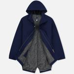 Мужская куртка парка Bleu De Paname Gabardine Natte Blue фото- 2