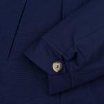 Мужская куртка парка Bleu De Paname Gabardine Natte Blue фото- 3