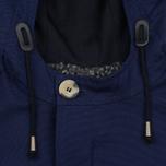 Мужская куртка парка Bleu De Paname Gabardine Natte Blue фото- 4