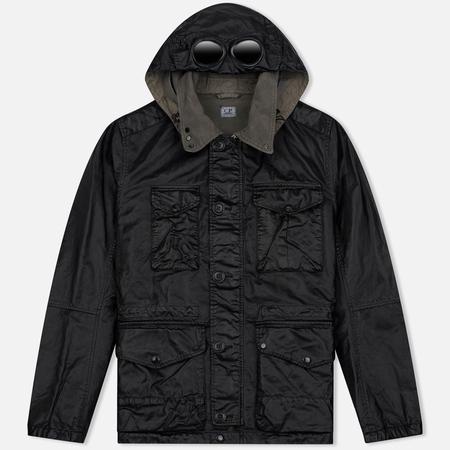 Мужская демисезонная куртка C.P. Company Rubber Goggle Black