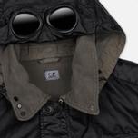 Мужская демисезонная куртка C.P. Company Rubber Goggle Black фото- 1
