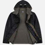 Мужская демисезонная куртка C.P. Company Rubber Goggle Black фото- 2