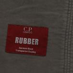 Мужская демисезонная куртка C.P. Company Rubber Goggle Black фото- 5