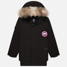 Мужская куртка парка Canada Goose Expedition RF Black фото- 0
