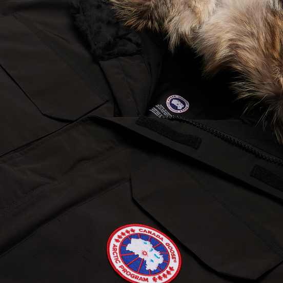 Мужская куртка парка Canada Goose Expedition RF Black