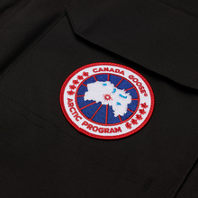 Мужская куртка парка Canada Goose Expedition RF Black фото- 2