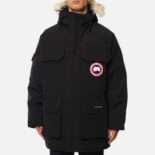 Мужская куртка парка Canada Goose Expedition RF Black фото- 5