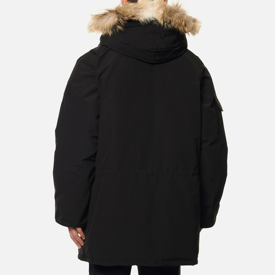 Мужская куртка парка Canada Goose Expedition RF Black