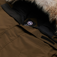 Мужская куртка парка Canada Goose Langford Military Green фото- 2