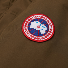 Мужская куртка парка Canada Goose Langford Military Green фото- 1
