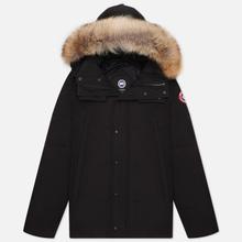 Мужская куртка парка Canada Goose Wyndham Black фото- 0