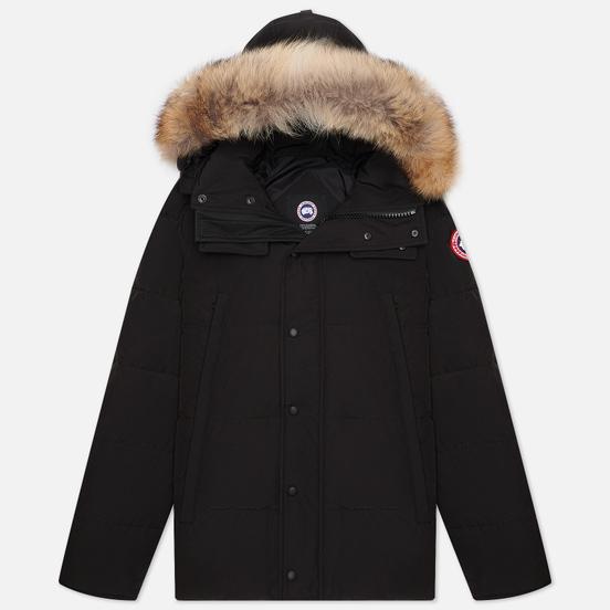Мужская куртка парка Canada Goose Wyndham Black