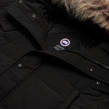 Мужская куртка парка Canada Goose Wyndham Black фото- 2