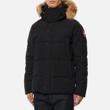 Мужская куртка парка Canada Goose Wyndham Black фото- 3