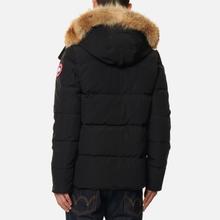 Мужская куртка парка Canada Goose Wyndham Black фото- 4