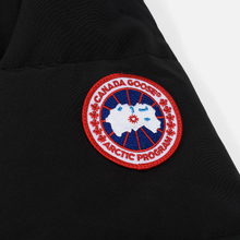 Мужская куртка парка Canada Goose Wyndham Black фото- 5