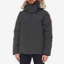 Мужская куртка парка Canada Goose Wyndham Graphite фото- 3