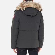 Мужская куртка парка Canada Goose Wyndham Graphite фото- 4