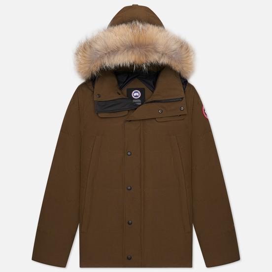 Мужская куртка парка Canada Goose Wyndham Military Green
