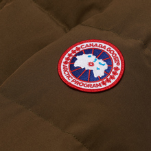 Мужская куртка парка Canada Goose Wyndham Military Green фото- 1