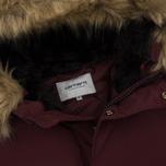 Мужская куртка парка Carhartt WIP Anchorage 4.7 Oz Amarone/Black фото- 1
