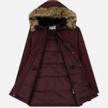 Мужская куртка парка Carhartt WIP Anchorage 4.7 Oz Amarone/Black фото- 2