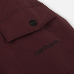 Мужская куртка парка Carhartt WIP Anchorage 4.7 Oz Amarone/Black фото- 6