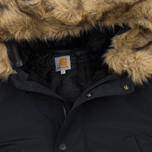 Мужская куртка парка Carhartt WIP Anchorage 4.7 Oz Black/Black фото- 1