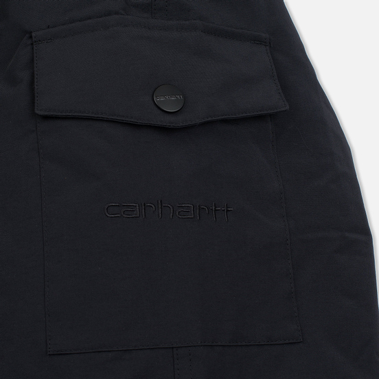 Мужская куртка парка Carhartt WIP Anchorage 4.7 Oz Black/Black