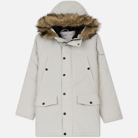Мужская куртка парка Carhartt WIP Anchorage 4.7 Oz Cinder/Cinder