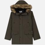 Мужская куртка парка Carhartt WIP Anchorage 4.7 Oz Cypress/Black фото- 0