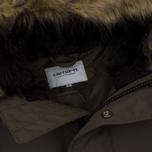 Мужская куртка парка Carhartt WIP Anchorage 4.7 Oz Cypress/Black фото- 1