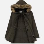 Мужская куртка парка Carhartt WIP Anchorage 4.7 Oz Cypress/Black фото- 2