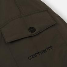 Мужская куртка парка Carhartt WIP Anchorage 4.7 Oz Cypress/Black фото- 6