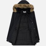 Мужская куртка парка Carhartt WIP Anchorage 4.7 Oz Dark Navy/Black фото- 2