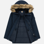 Мужская куртка парка Carhartt WIP Anchorage 4.7 Oz Navy/Black фото- 2