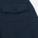 Мужская куртка парка Carhartt WIP Anchorage 4.7 Oz Navy/Black фото- 4