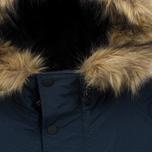 Мужская куртка парка Carhartt WIP Anchorage 4.7 Oz Navy/Black фото- 5