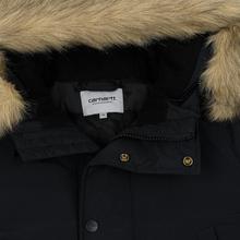 Мужская куртка парка Carhartt WIP Anchorage 4 Oz Black фото- 1