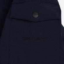 Мужская куртка парка Carhartt WIP Anchorage 4 Oz Dark Navy/Black фото- 3