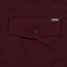 Мужская куртка парка Carhartt WIP Anchorage 4 Oz Merlot/Black фото- 2