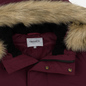 Мужская куртка парка Carhartt WIP Anchorage 4 Oz Merlot/Black фото - 5