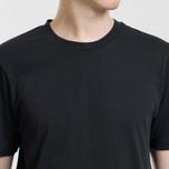 Комплект мужских футболок Carhartt WIP Standart Crew Neck Black/Black фото- 3