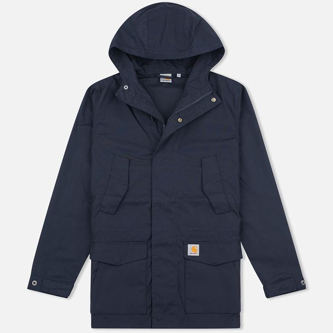 Мужская куртка парка Carhartt WIP Battle Dark Navy